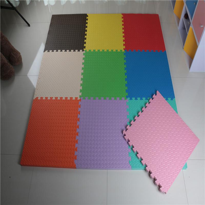 Eva foam heat transfer printing puzzles game baby play mat