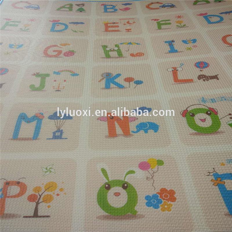 Non-Toxic Non-Slip Eco Friendly Baby Care xpe Play Gym Mat