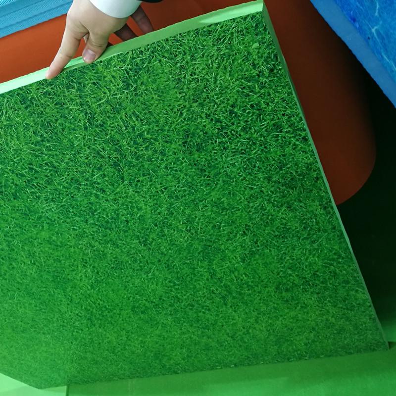 eva floating ocean grass design mat