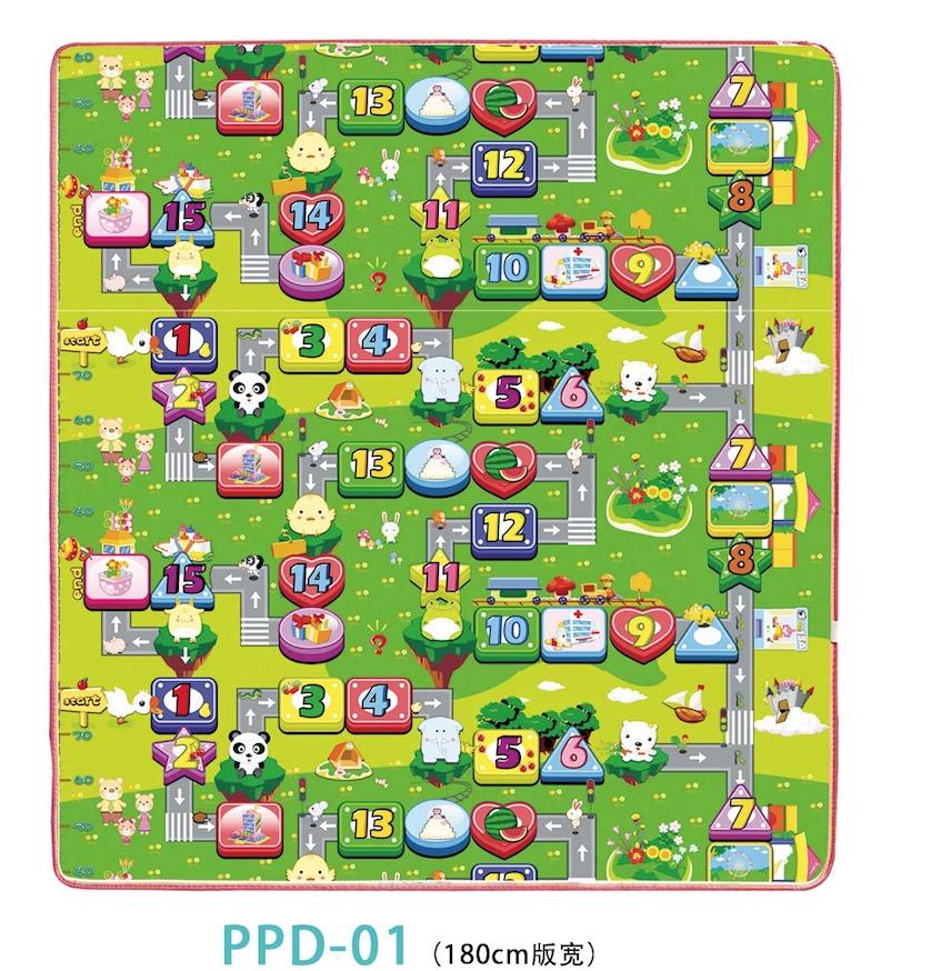 Kids capeti Playmat rogi Village Life Nla Fun ndun Pẹlu Cars ati Toys Mọ ati ki o ni Fun Educational Ro