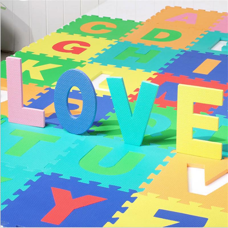 eva foam alphabet puzzle mat