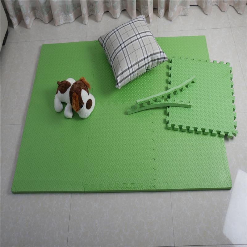 """Multipurpose Interlocking Puzzle Eva Foam Tiles-Anti-Fatigue Mat 24 Sq. Ft, 24"""" x 24"""" Tiles, Multicolor"""