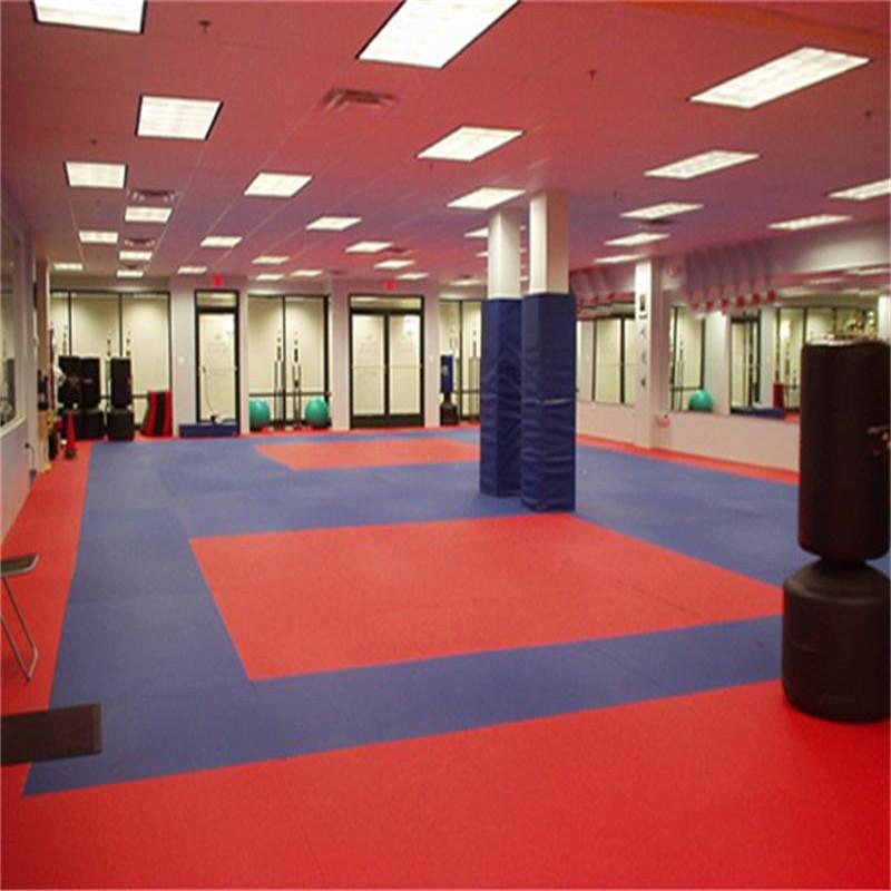 taekwondo mat size