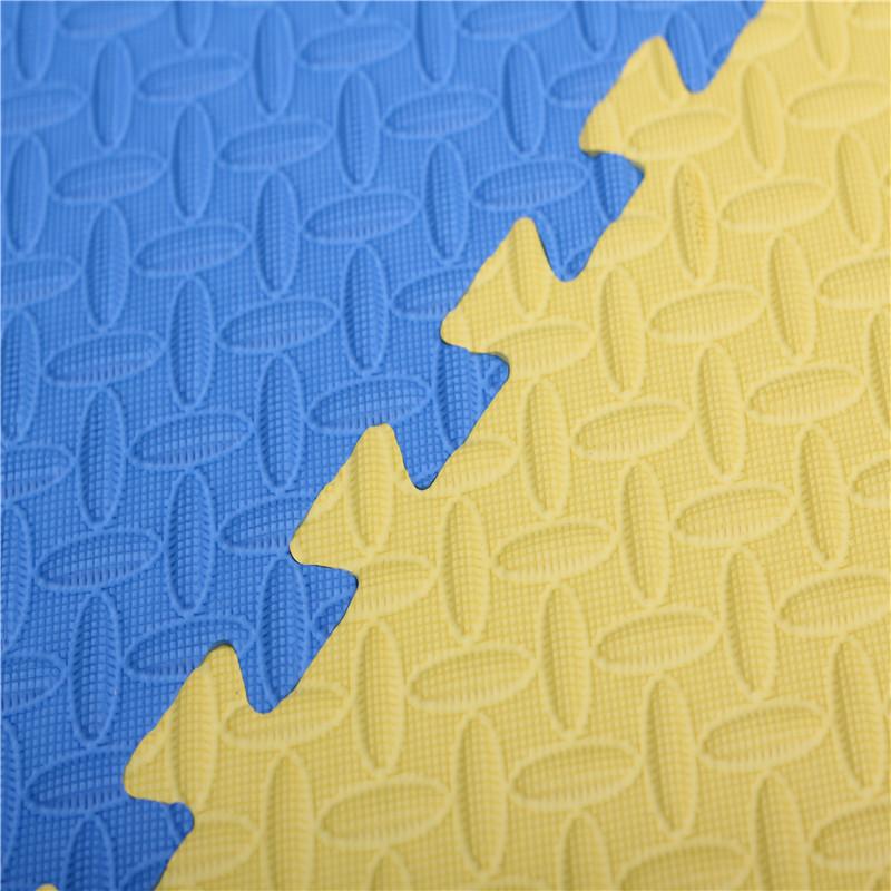OEM non-toxic eva foam mat martial art jigsaw mat