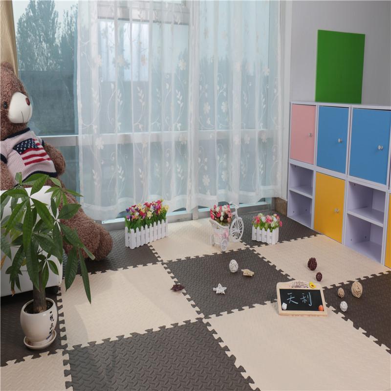 puzzle floor mat